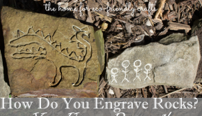 How do you engrave rocks? With power tools! And even your big kids can do it.