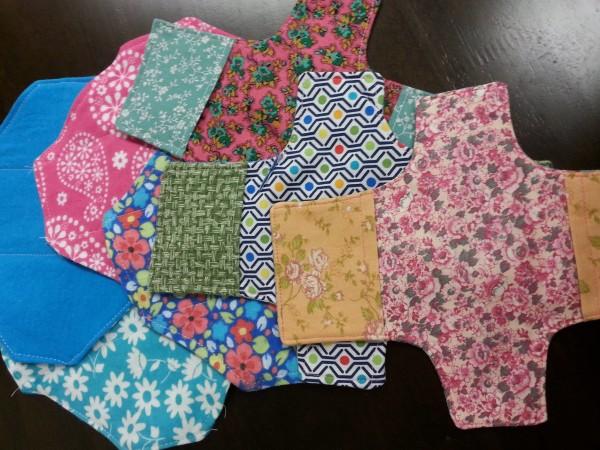 DIY Menstrual Supplies for Days for Girls