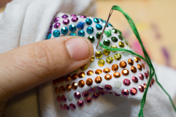 How to Repair Embellished Clothing