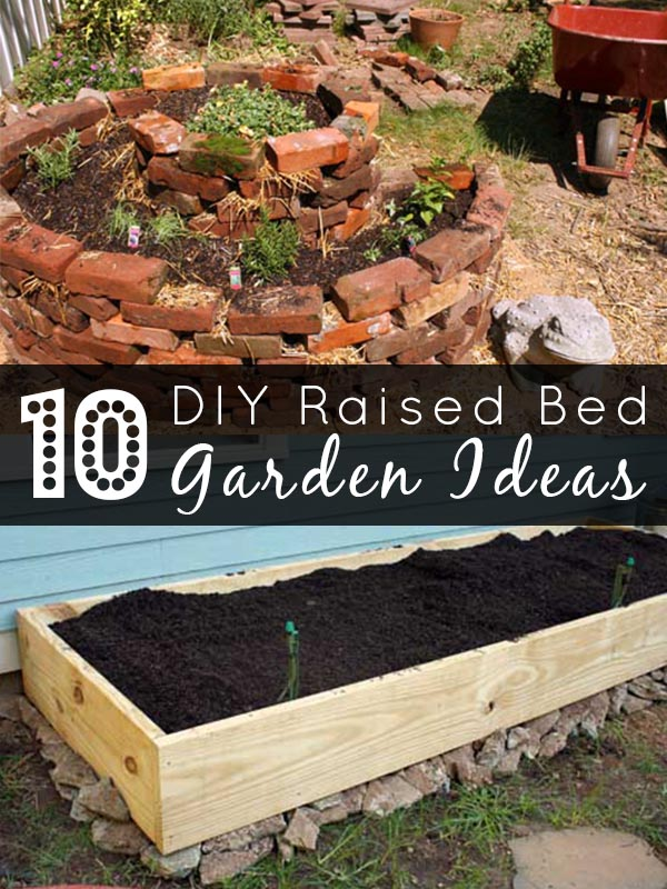 Ready to get your garden growing? Here are 10 DIY raised beds that anyone can build.
