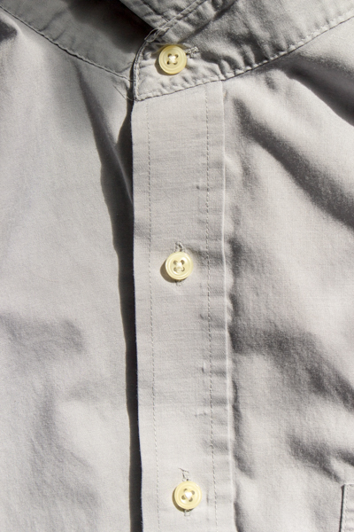 how to replace a button on a button-down shirt