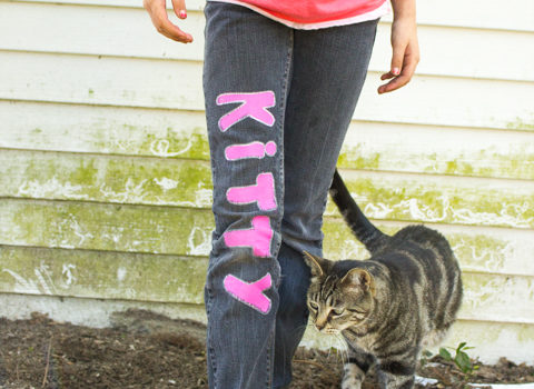 Graffiti Jeans