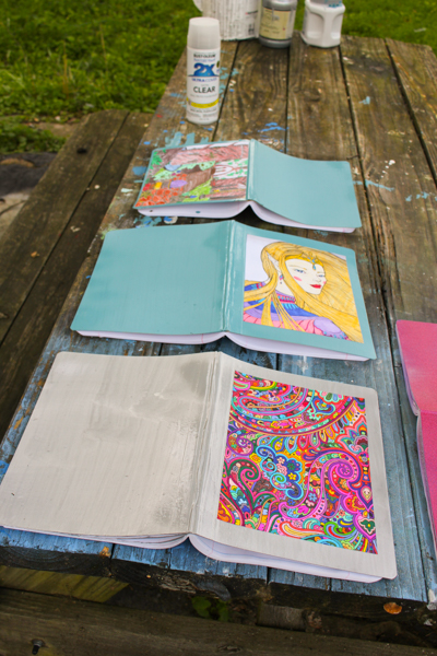 How to Embellish a Composition Book
