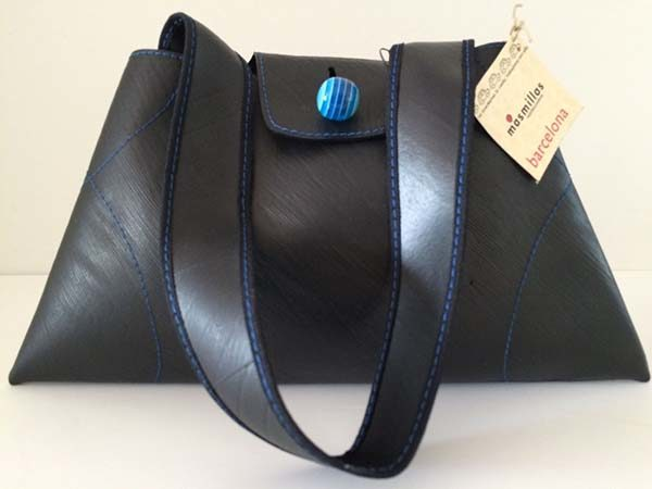 recycled bike tire purse