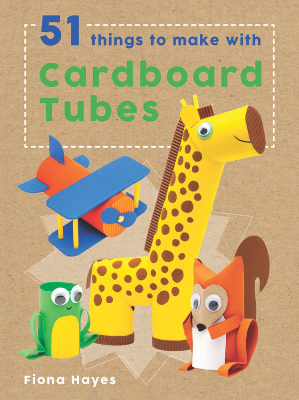 Cardboard tube crafts book review crafting a green world for Where to buy cardboard tubes for craft