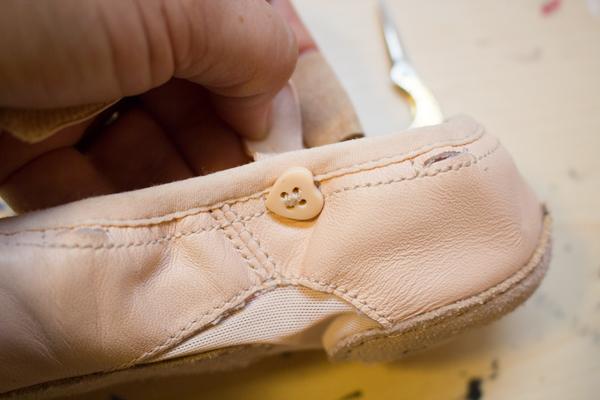 How to Repair Children's Ballet Shoes