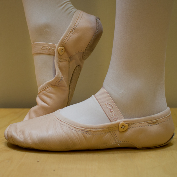 Here's how to repair a child's ballet shoe, the quick and easy way. You can even teach your kid to do this herself, so she can fix her own ballet shoe next time it breaks.