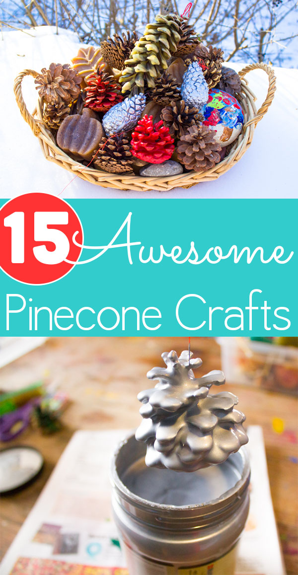 Pine cone season is here! Try some of these adorable pine cone crafts for fall and winter.