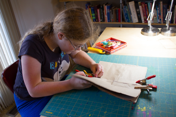 Brown Paper Bag Crafts: How to Make a Brown Paper Bag Journal