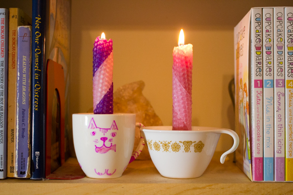 Here's how to make a teacup candle, plus one thing to consider before you get started.