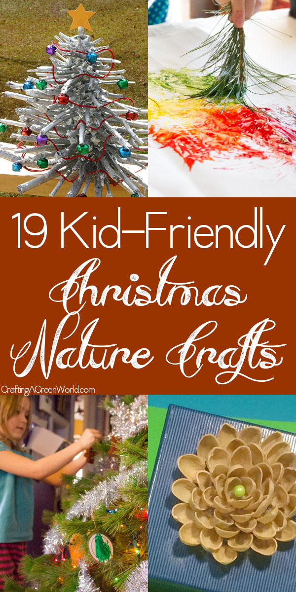 Get outside or hit the farmer's market to collect what you need to make these nature crafts for Christmas.