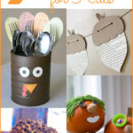 These Thanksgiving craft for kids will occupy the littles so you can cook, set the table, and maybe even eat in peace.