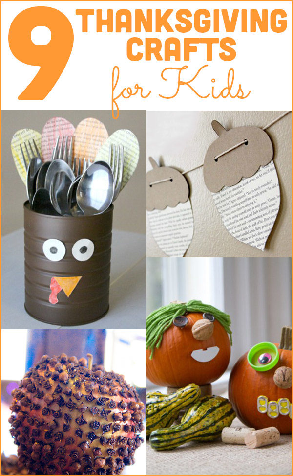 These Thanksgiving crafts for kids will occupy the littles so you can cook, set the table, and maybe even eat in peace.