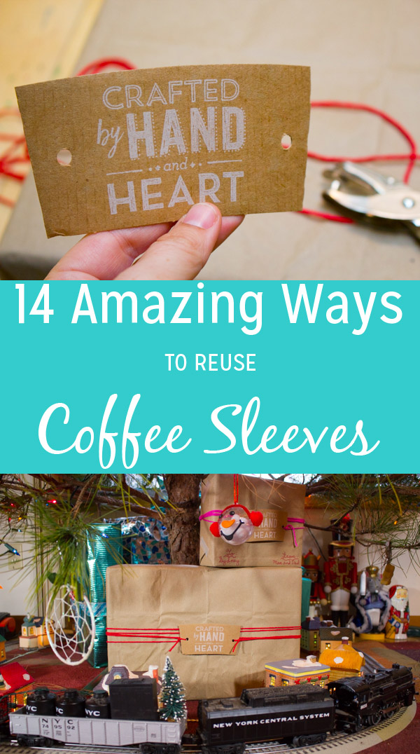 Before you toss that coffee sleeve in the bin, check out this list of awesome ways to reuse a coffee sleeve and turn that trash into something incredible.