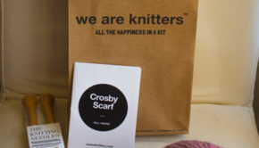 We are Knitters Crosby Scarf