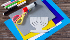 There are so many cool Hanukkah crafts that you can make from recycled materials.