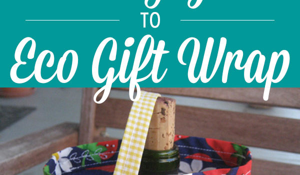 You know that rolls and rolls of paper aren't the best choice for wrapping holiday gifts. Try these eco-friendly gift wrap options instead!