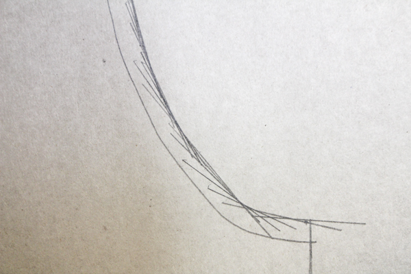 How to Pattern Draft a Curve