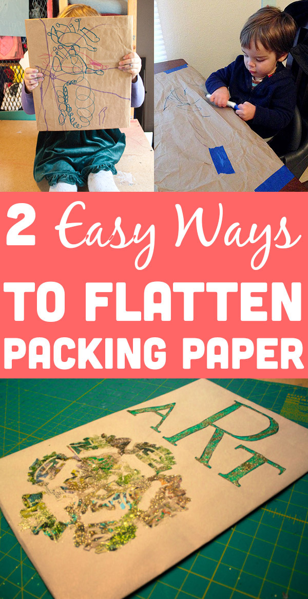 The paper that companies use to cushion packages is so handy! Here's how to reuse brown packing paper, whether you need it to look fancy or just functional.