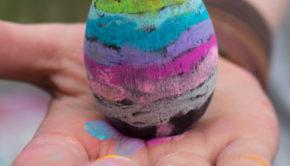 Chalkboard Easter Egg