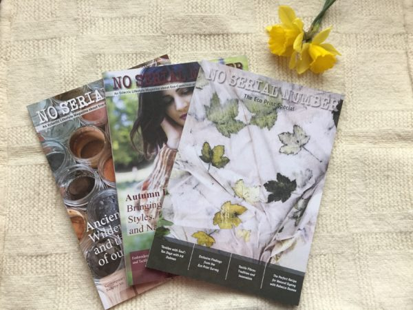 No Serial Number magazine quarterly publication about eco-friendly and heritage crafts. We tell stories of crafters and artists around the world.
