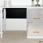 Filing Cabinet Desk from Refashionably Late