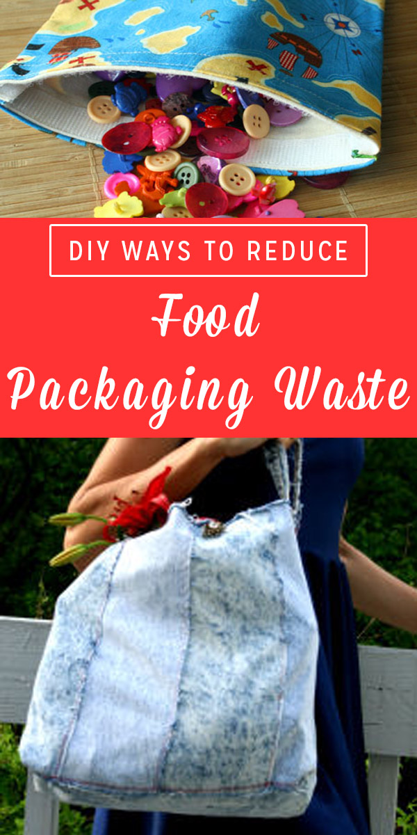 Food packaging waste is one of my pet peeves. These are some DIY ways to reduce food packaging waste, like the amount of paper and plastic, that you bring home from the grocery store.
