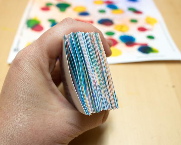 DIY Watercolor Business Cards