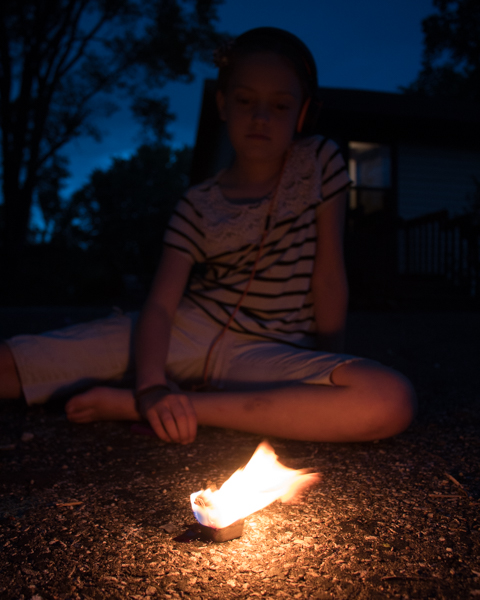 Kid-Made Fire Starters