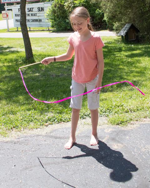 DIY Ribbon Wand